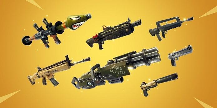Arme din Fortnite